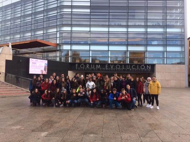 Crónica de la excursión a Atapuerca-Burgos - 1º Bachillerato Ies 9 Valles