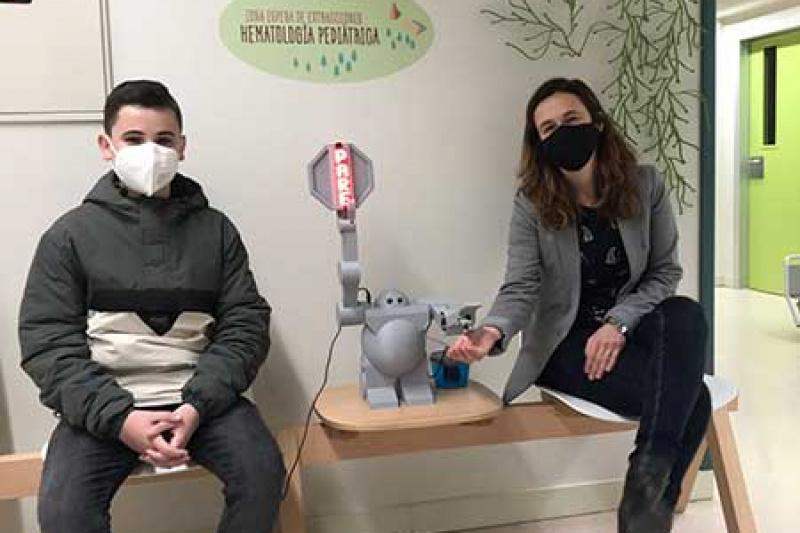 Robot Marques de Valdecilla